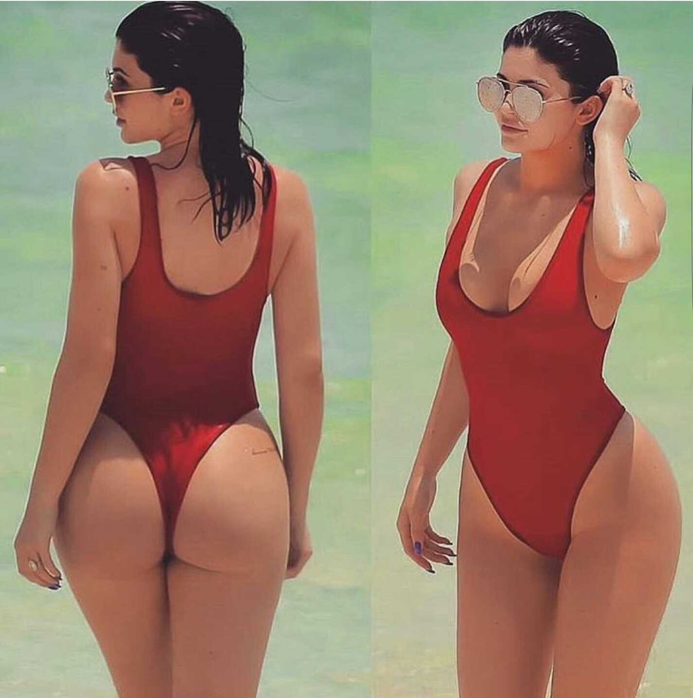 Kylie jenner beach welcome to linda ikeji s blog more photos from