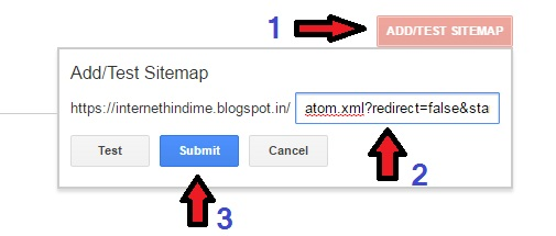 Google Search Console me Blogger Sitemap kaise submit kare