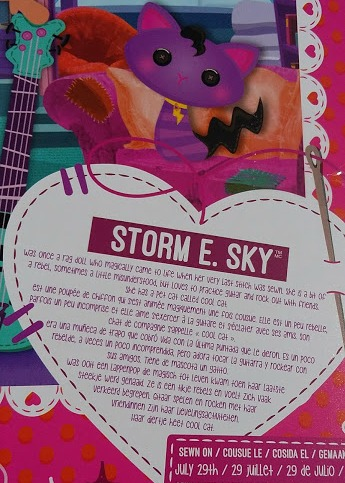 Lalaloopsy Storm E Sky - Review real hair doll sewn on date