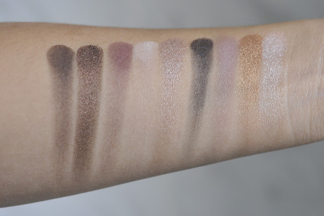 Sephora Collection the Romantic Eyeshadow Palette Swatches