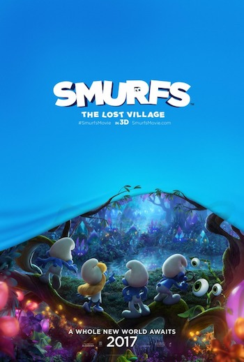 Smurfs The Lost Village 2017 Dual Audio Hindi HDCAM x264 700MB