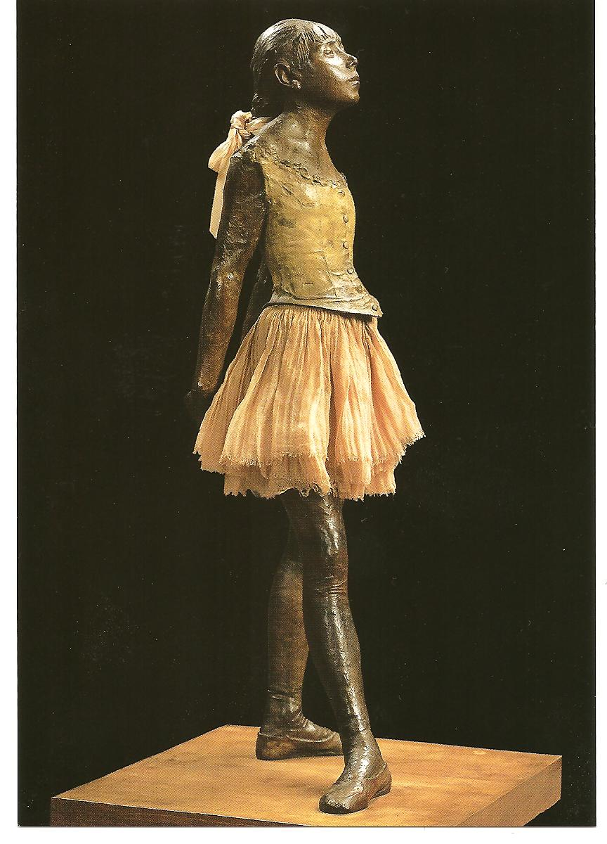 degas ballerina sculpture - HD 864×1200