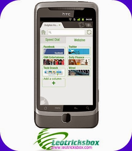 Android App : Dolphin Browser v11.1.3