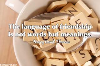 quotes tentang persahabatan dan terjemahannya