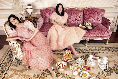 Harper's Bazaar Features Asian Style Icons in 'Crazy Rich Couture'