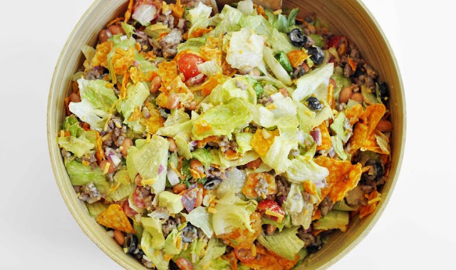 DORITOS TACO SALAD with 4 Smart Points - Weight watchers