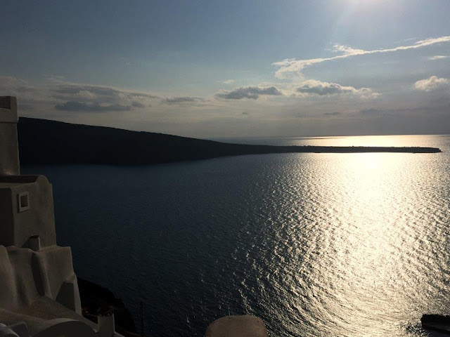 Sunset over Aegean Sea