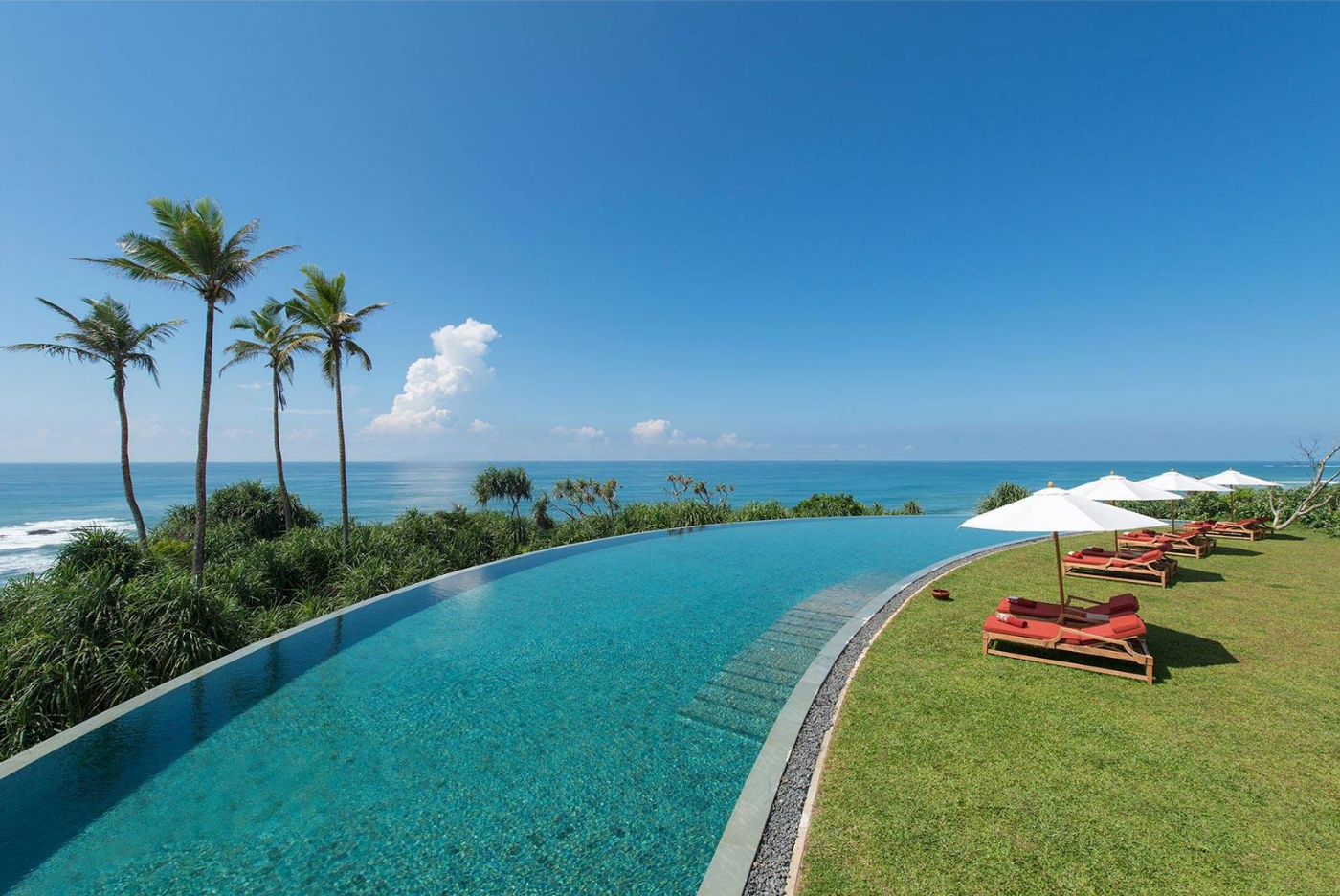 infinity pools in Sri Lanka
