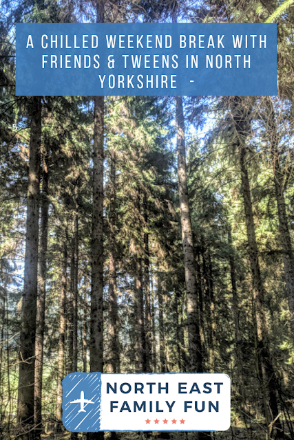 A Chilled Weekend Break with Friends & Tweens in North Yorkshire  -