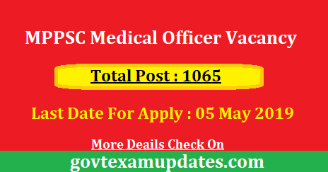 MPPSC%2BMedical%2BOfficer%2BVacancy  Th P Govt Job Online Form In Up on