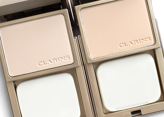 Clarins Everlasting+ Compact Foundation Review 103 Ivory 105 Nude