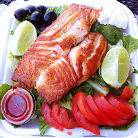 Fat Burning Meal - Salmon Salad