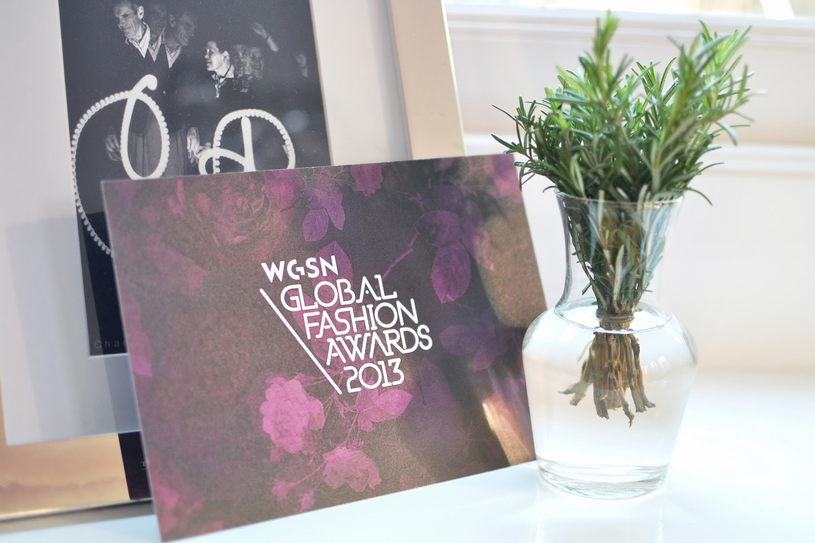 WGSN GLOBAL FASHION AWARDS 2013