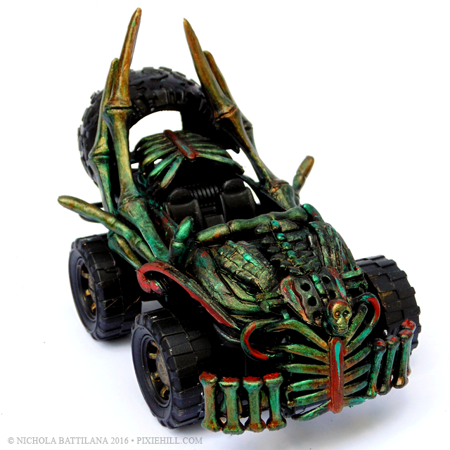 Creeptastic Dollarstore Hot Rods - Nichola Battilana