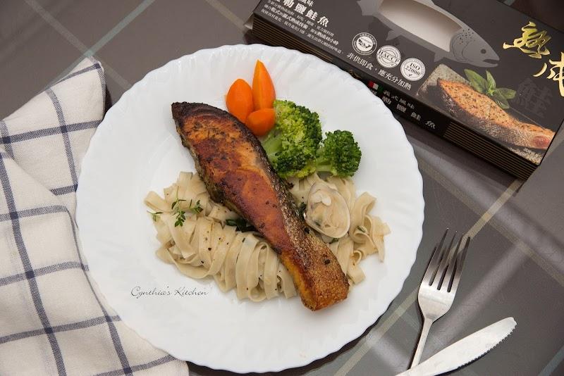 分饗熟成海鮮2.0--日式熟成鹽麴鮭魚。義式熟成羅勒鹽鮭魚。日式熟成西京漬鱈鰈(試食)