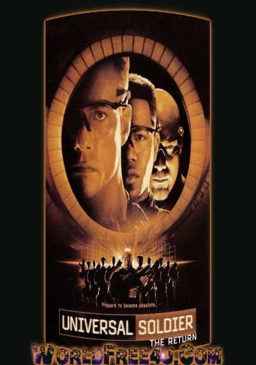 Poster Of Universal Soldier The Return (1999) In Hindi English Dual Audio 300MB Compressed Small Size Pc Movie Free Download Only At worldfree4u.com