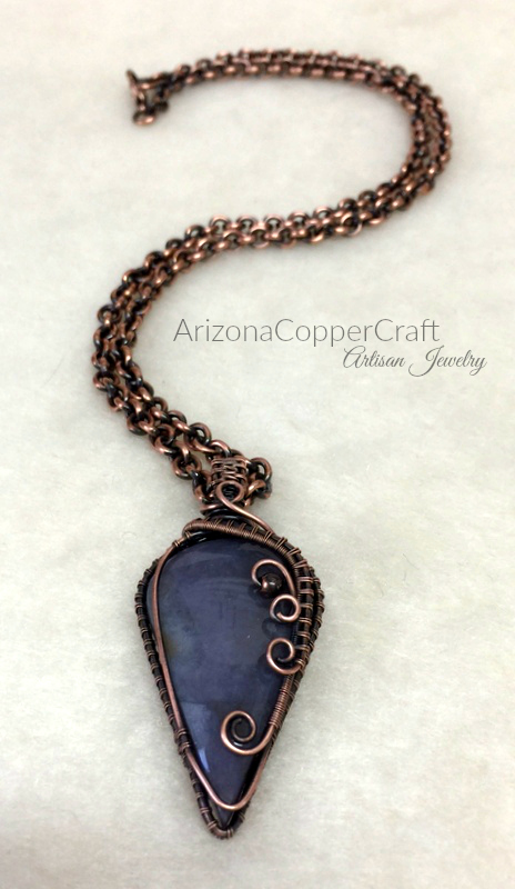 Simply Handcrafted: Wire Weave Tutorial, Burro Creek Agate