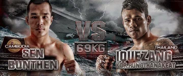 Thai Fight 6 April 2014, Sen BunThen Vs Iquezang, withads - Khmer