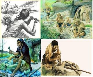 التاريخ المستوى السادس: الإنسان البدائي : حياته ، مسكنه ، أدواته