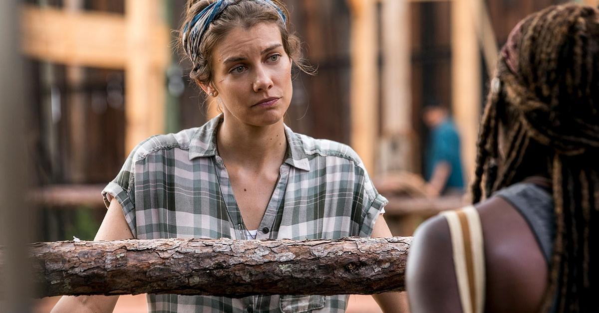 Maggie, en el episodio 9x02 The Bridge de The Walking Dead