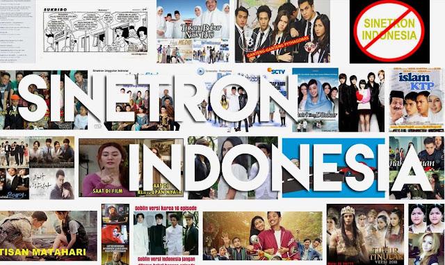 Semakin menjamurnya sinetron indonesia, bukan semakin BAGUS, tapi malah semakin menurun kualitasnya dan jelek