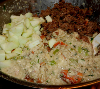 Cornbread Dressing With Sausage Apples And Sage
