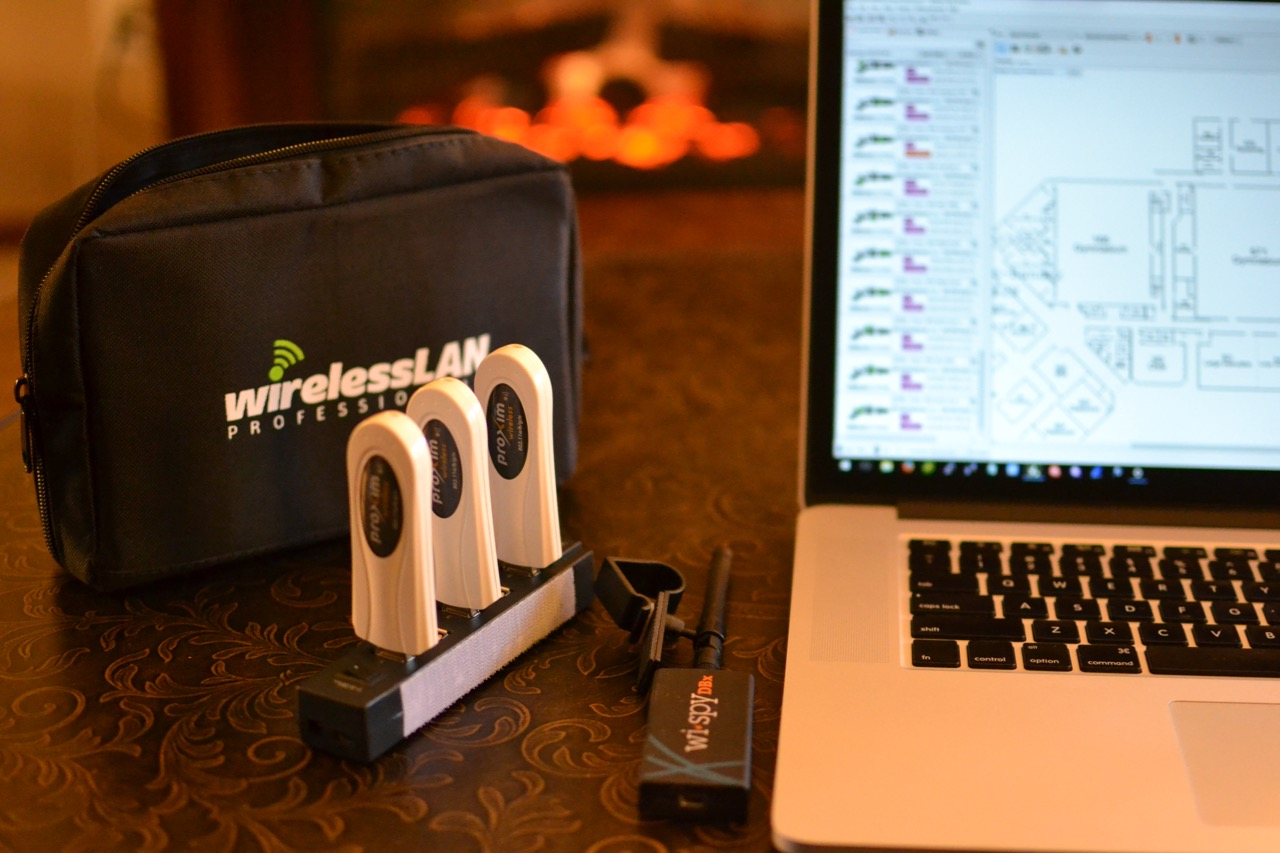 Ekahau Site Survey Multi-USB Adapter Configuration | gigahertz geek