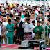 Bupati Dan Rombongannya Sholat Ied Bersama Ratusan Masyarakat Bintan