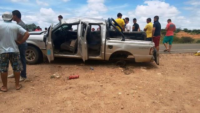 Tanhaçu: Vítimas de acidente na BA-142, são identificadas; três morreram