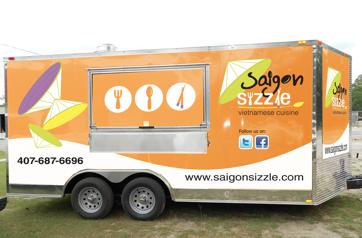 Saigon Sizzle Food Truck Menu