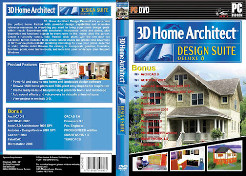 3D Home Architect® Design Suite Deluxe.