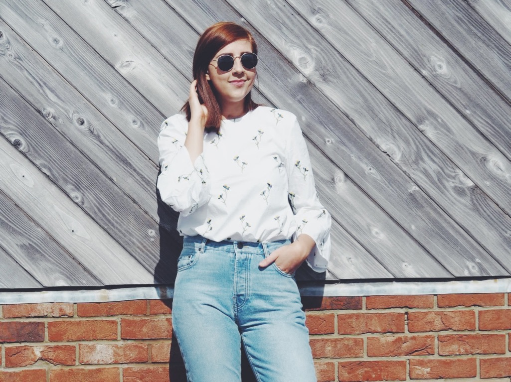 fbloggers, fashionbloggers, ootd, outfitoftheday, lotd, lookoftheday, wiw, whatimwearing, asseenonme, asos, floralshirt, blackloafers, primarksunglasses, springfashion, summerfashion