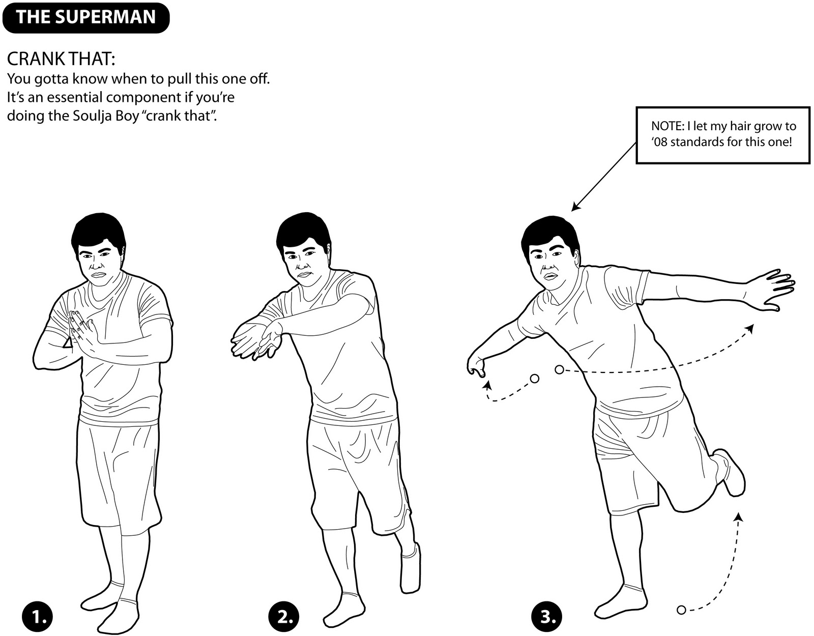 Learn By Diagram Learn Some Dance Moves The Superman