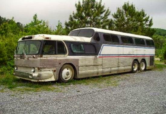 Used rvs 1954 gmc scenicruiser for sale for sale by owner for Gmc motor homes for sale
