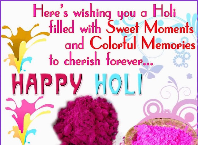 Happy Holi Quotes Wishes Messages with Images