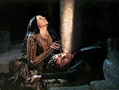 Escena de la muerte de Julieta, por Zeffirelli