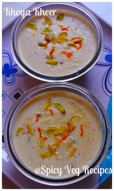 Kheer, Kheer Recipe, North Indian, North Indian Recipes, Regional Indian Cuisine, Traditional Sweets, Vrat Recipes, Khoya Kheer (Rice Pudding),Khoya Kheer (Rice Pudding) Recipe, How to make Khoya Kheer (Rice Pudding),kheer, rice,