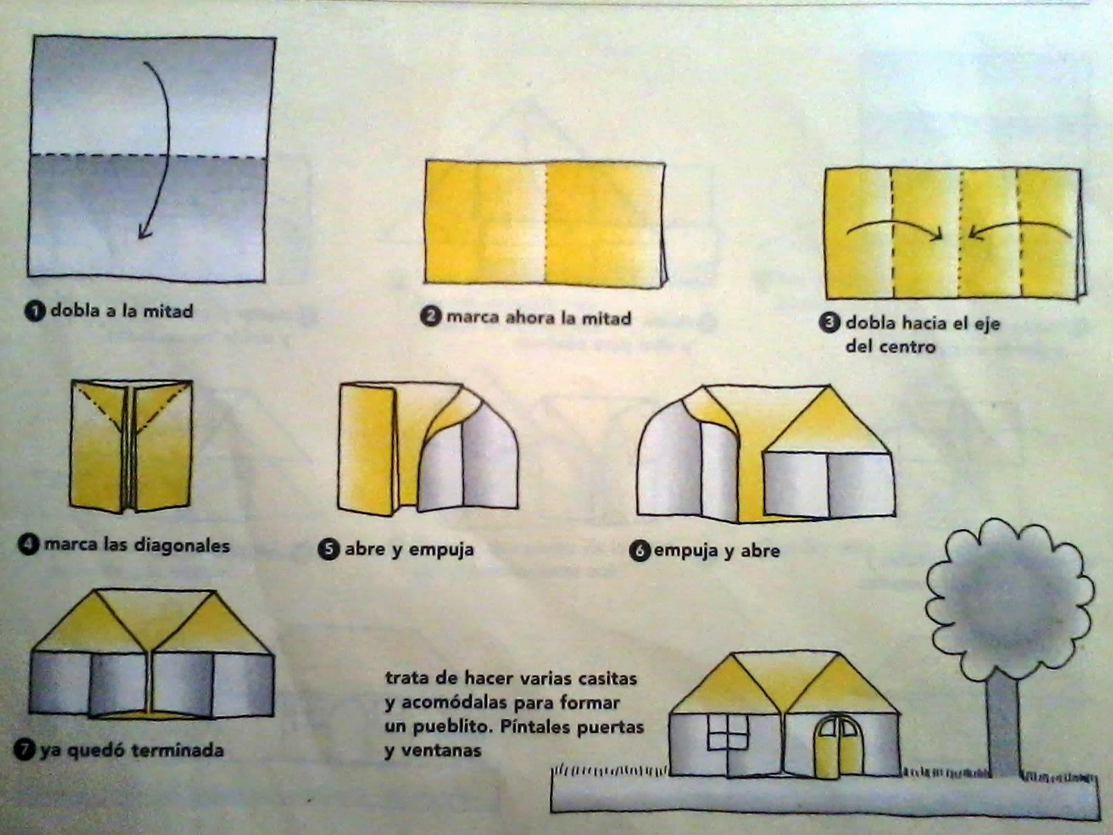Papiroflexia origami para ni os - Como crear tu casa ...