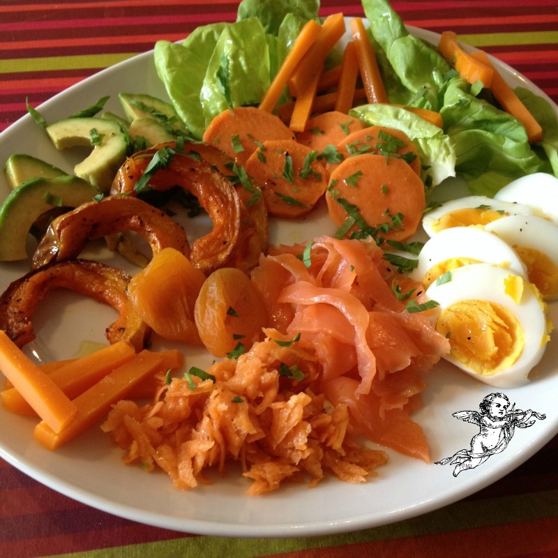 La cuisine claudine l 39 amour est dans l 39 air salade - Amour dans la cuisine ...