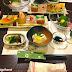 Eating at Yado Kanzan