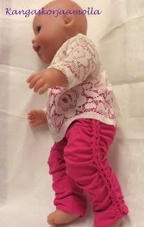 Baby bornin leggingssit