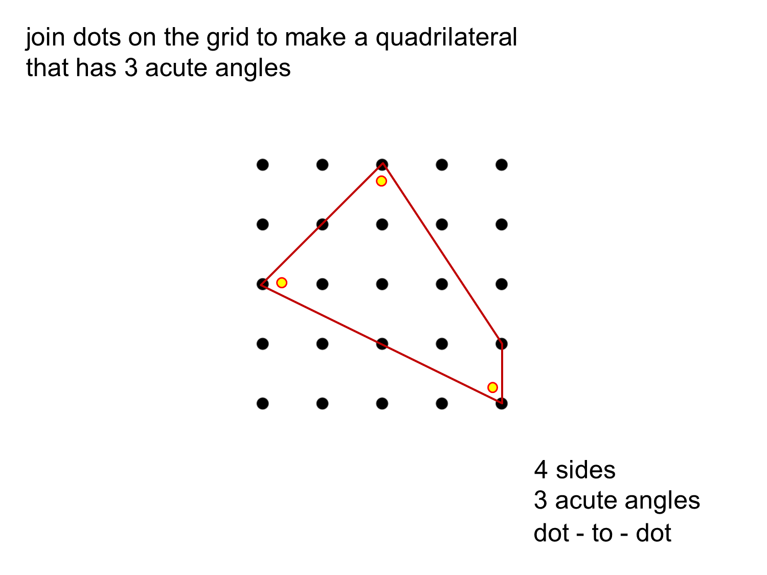 Median Don Steward Mathematics Teaching Quadrilaterals With 3 Acute Angles