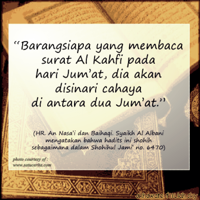 Keutamaan Menghafal Sepuluh Ayat Surat Al Kahfi Qiroati