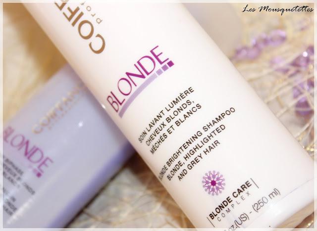 Soin Lavant Lumière Gamme Blonde Coiffance Professionnel - Les Mousquetettes©