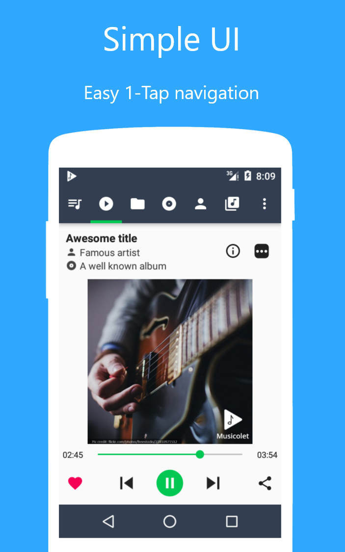 Download Musicolet Music Player [No ads] for PC version %20build