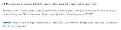 Mata uang Kriptto/bitcoin