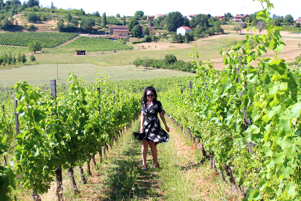 Emma Louise Layla & vineyards in Piemonte, Italy - travel & style blog