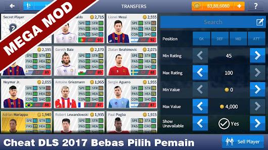 Cheat Dream League Soccer 2017 Membuka Semua Pemain (Mega Mod ...