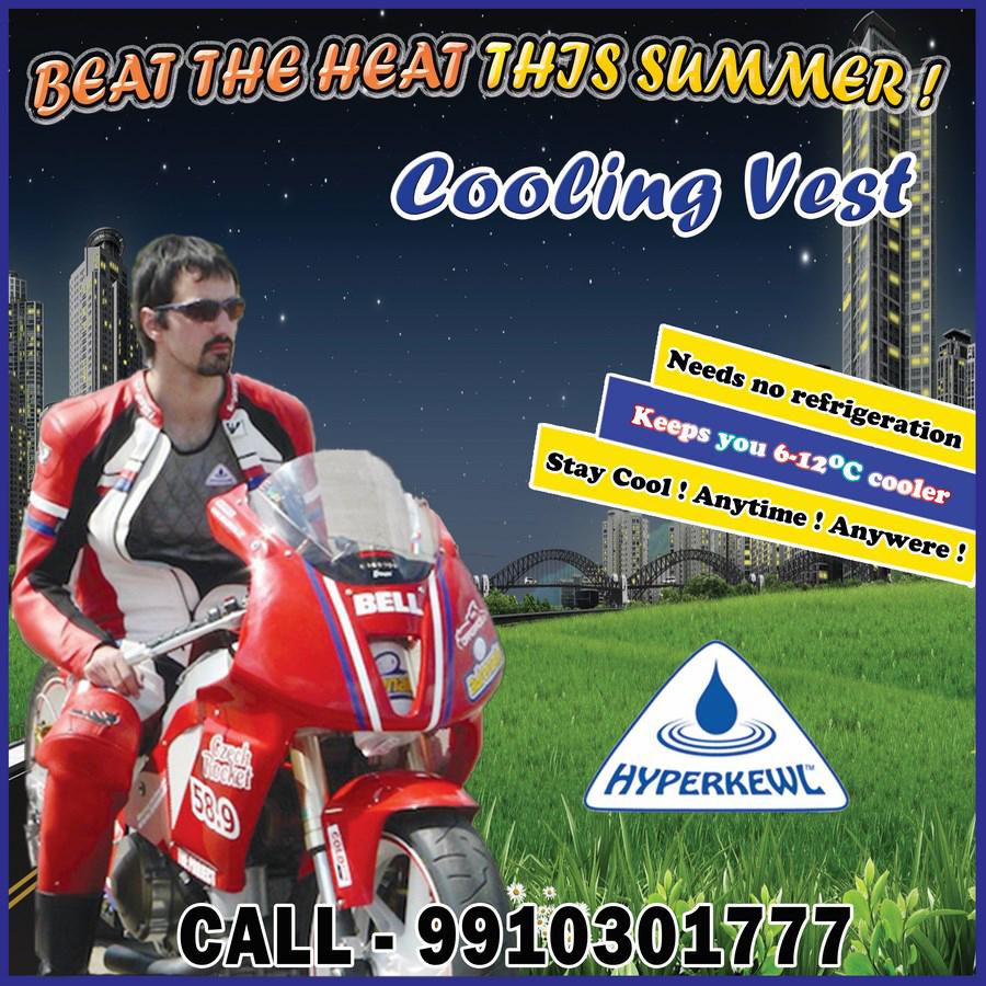 Evoporative cooling vest - Hyperkewl: Evoporative Cooling Vest