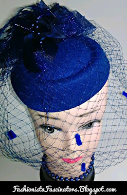 Blue fascinator hats for sale in Kenya